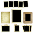 Collection of Vintage Photo Frames