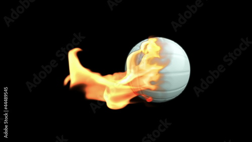Volleyball on Fire with Alpha
