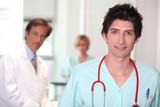 Male nurse.