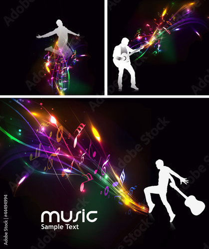 music event design. vector illustration.