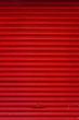 Rotes Garagentor - Hintergrund