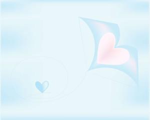 kite hearts