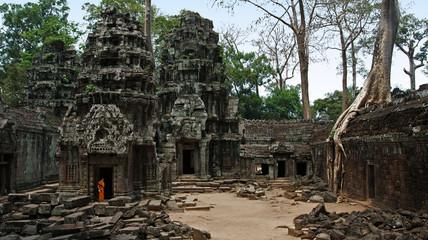 Gigantischer Ta Prom Tempel, Angkor / Kambodscha