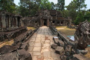Eingang zum Banteay Kdei Tempel, Kambodscha