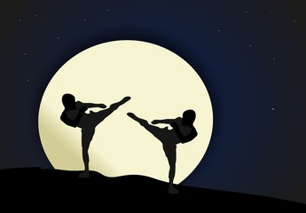 Night combat - Martial arts
