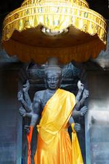 Buddha Statue im Angkor Wat Komplex