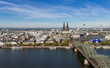 Cologne Skyline - Cologne Triangle View