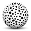 Kugel, Sterne, Sternchen, Weihnachten, Stars, Sphere, Ball