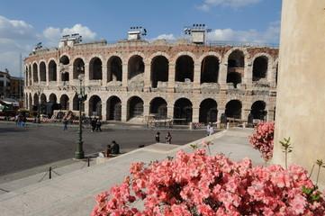 Arena romana di Verona, Italia