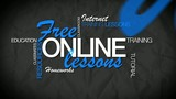 Free online lessons word tag cloud animation video