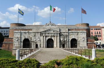 Porta Palio a Verona, Italia