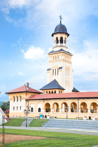 The Archiepiscopal Cathedral in Alba Iulia, Transylvania, Romani