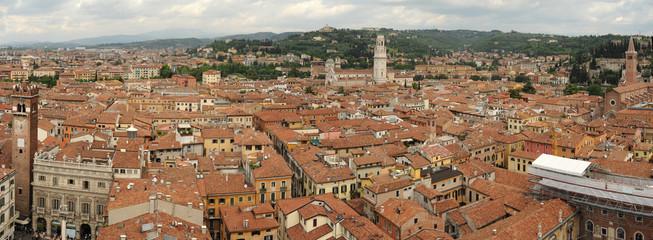 Vista sulla città di Verona, patrimonio mondiale UNESCO