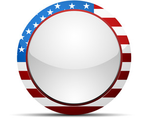 US United States of America button