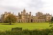 St. Johns college in Cambridge, UK