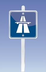 pancarte route