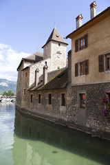 the centre of annecy, fracne
