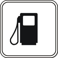 panneau carburant