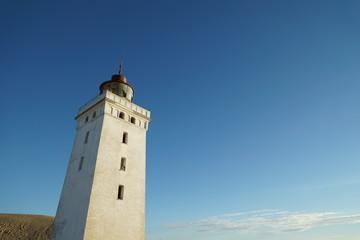 Leuchtturm Rubjerg Knude Fyr, Dänemark, Froschperspektive