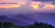 Leinwandbild Motiv Blue Ridge Mountains