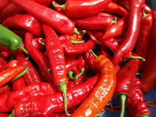 Long Hot Red Peppers