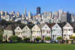 San Francisco - Alamo park et les painted ladies