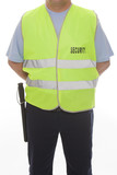 detail of a security guard
