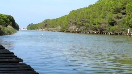 Canale di San Rocco, Marina di Grosseto, Italia