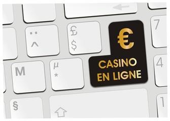 clavier casino en ligne