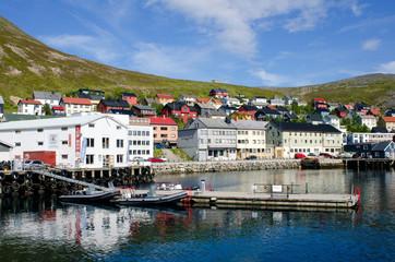 Honningsvag/ Honningsvaeg city, Norway