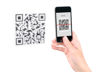 Capture QR code on mobile phone