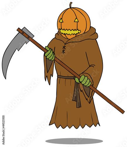 Death Angel Pumpkin