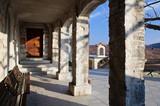 Castelmonte  sanctuary, Cividale del Friuli. Udine, Italy poster