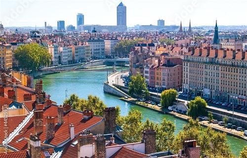 Papiers peints Pays d Europe Lyon, France.