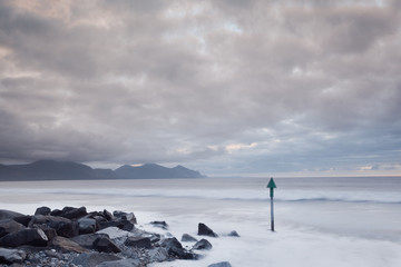 Seascape in North Wales