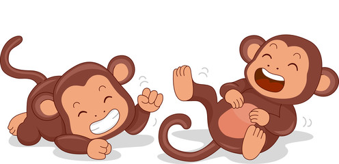 Laughing Monkeys
