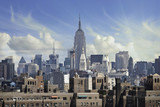 Fototapety Stormy Sky over New York City