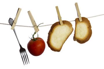 Hanging food
