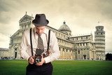 Fotoreporter -  Pisa - Vintage
