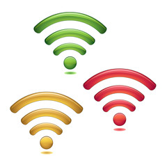Wireless Network Symbols set