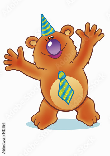 teddy bear's birthday