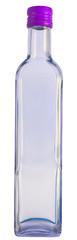 Empty glas bottle