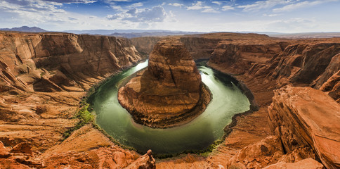 Horseshoe Bend panorama HDR