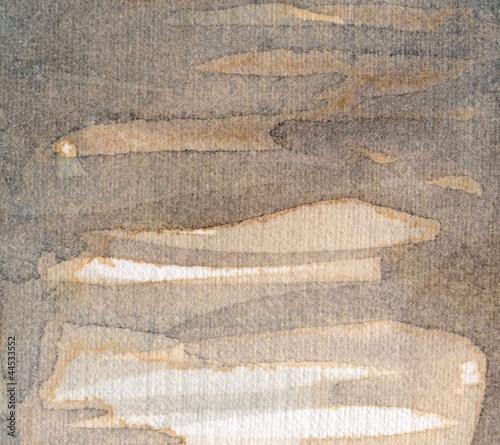 Artystyczne tło akwarelowe, © bruniewska