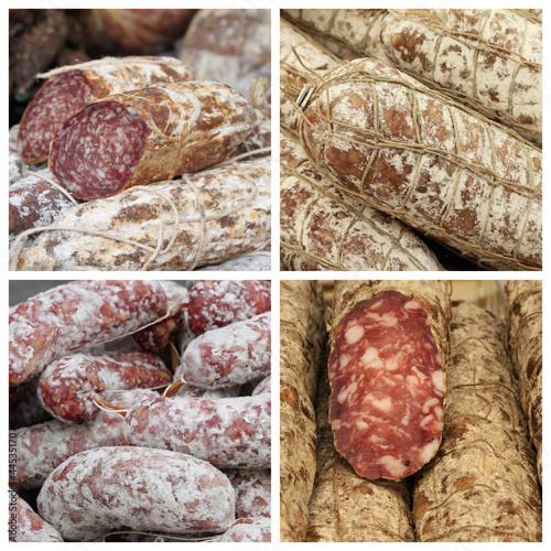 charcuterie mix, Italy