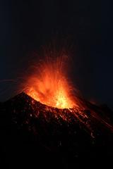 Strombolianische Eruption
