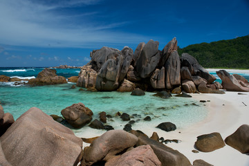 Anse Coco auf Ligue, Seychellen