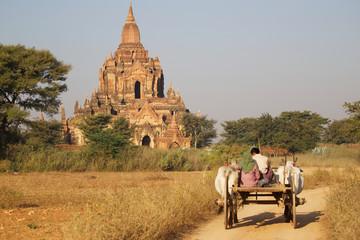 Auf dem Weg zur Pagode, Myanmar