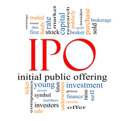 IPO Word Cloud Concept