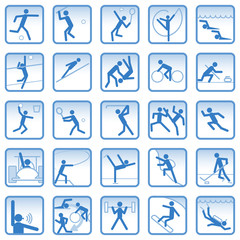 スポーツ関連アイコン